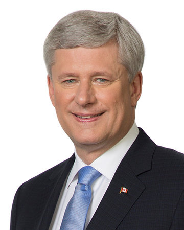 Photo of Stephen J. Harper