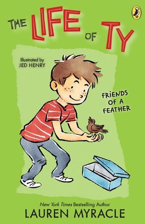 Friends of a Feather by Lauren Myracle; Illustrated by Jed Henry
