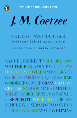 Inner Workings by J. M. Coetzee
