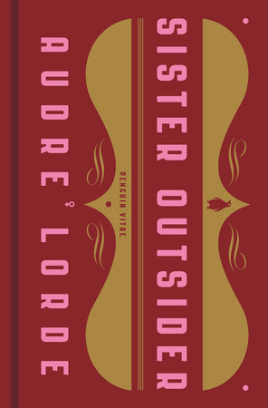 Sister Outsider Book Cover Picture