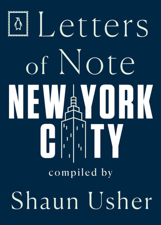 Letters of Note: New York City by