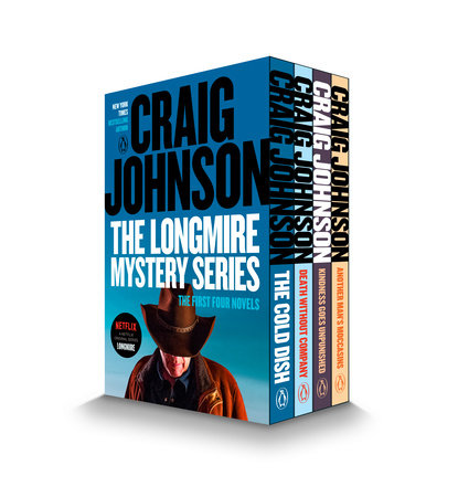 The Longmire Mystery Series Boxed Set Volumes 1-4 by Craig Johnson