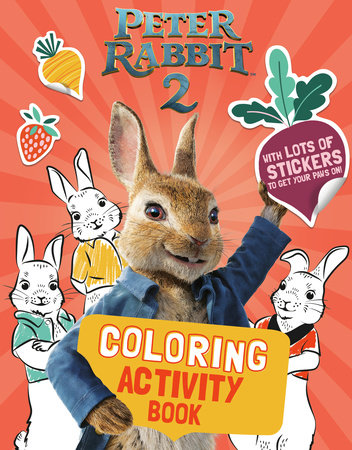 Peter Rabbit 2 Coloring Activity Book