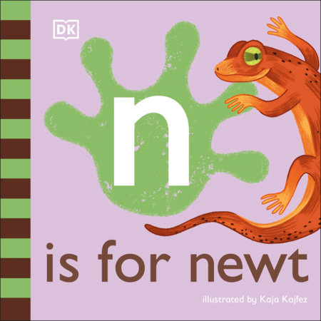 N is for Newt by DK