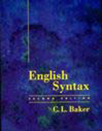 English Syntax, second edition by C. L. Baker