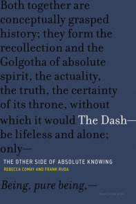 The Dash-The Other Side of Absolute Knowing