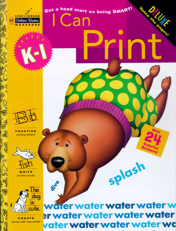 I Can Print (Grades K - 1) by Golden Books