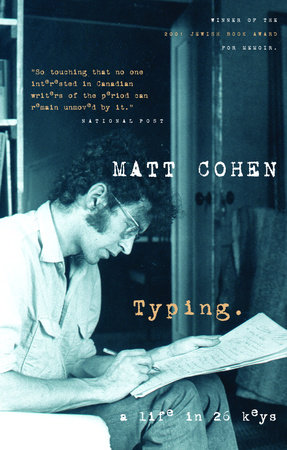 Typing by Matt Cohen