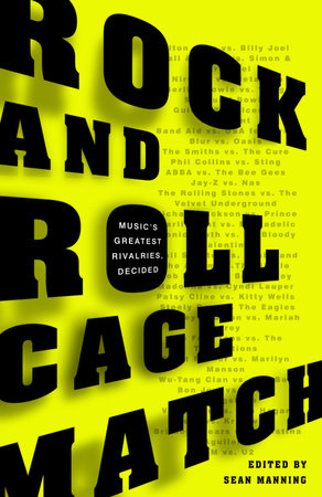 Rock and Roll Cage Match by Sean Manning