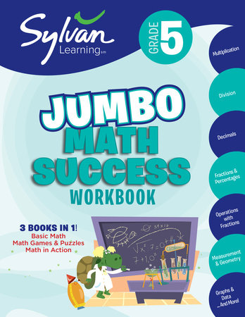 5th Grade Jumbo Math Success Workbook