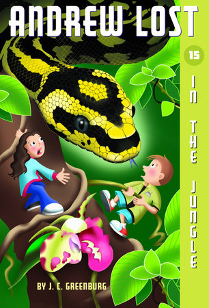 Andrew Lost #15: In the Jungle by J. C. Greenburg