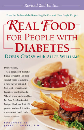 Real Food for People with Diabetes, Revised 2nd Edition by Doris Cross and Alice Williams