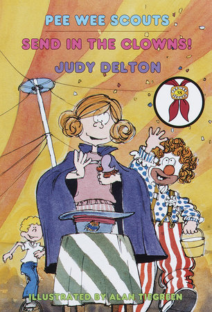 Pee Wee Scouts: Send in the Clowns by Judy Delton