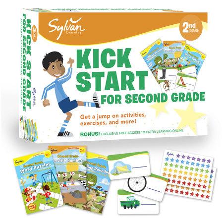 Sylvan Kick Start for Second Grade by Sylvan Learning