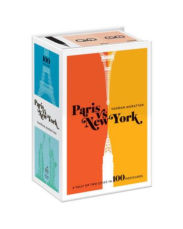Paris versus New York Postcard Box by Vahram Muratyan