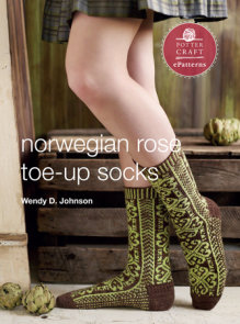 Norwegian Rose Socks