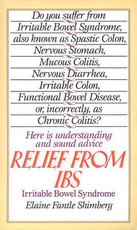 Relief from IBS by Elaine Fantle Shimberg