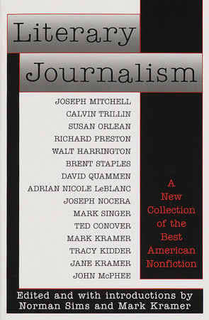 Literary Journalism by Norman Sims and Mark Kramer