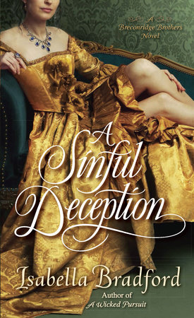 A Sinful Deception by Isabella Bradford