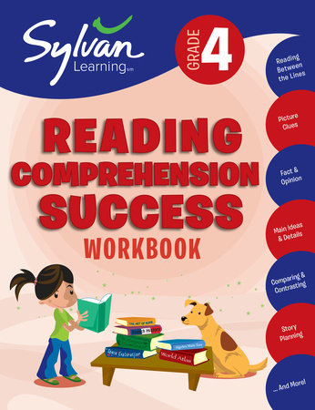 4th Grade Reading Comprehension Success Workbook by Sylvan Learning