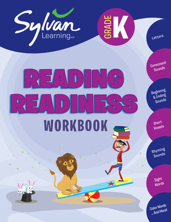 Kindergarten Reading Readiness Workbook by Sylvan Learning