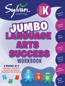 Kindergarten Jumbo Language Arts Success Workbook