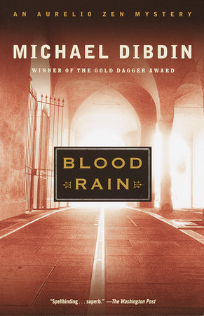 Blood Rain by Michael Dibdin