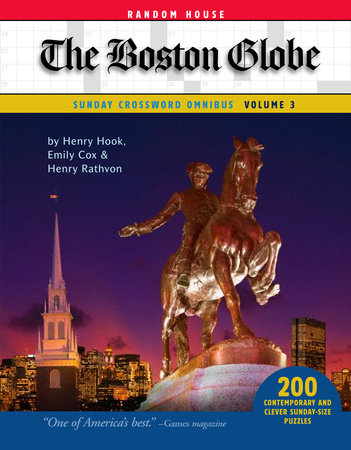 The Boston Globe Sunday Crossword Omnibus, Volume 3 by Henry Hook, Emily Cox, and Henry Rathvon
