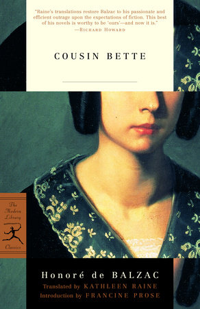 Cousin Bette by Honoré de Balzac