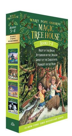 Magic Tree House Books 5-8 Boxed Set by Mary Pope Osborne