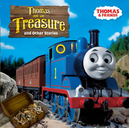 Thomas and the Treasure (Thomas & Friends) by The Rev W Awdry; illustrated by Richard Courtney