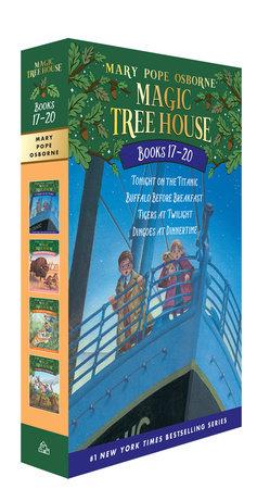 Magic Tree House Books 17-20 Boxed Set by Mary Pope Osborne