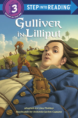 Gulliver in Lilliput by Lisa Findlay