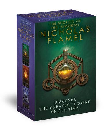 The Secrets of the Immortal Nicholas Flamel Boxed Set (3-Book) by Michael Scott