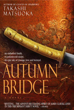 Autumn Bridge by Takashi Matsuoka