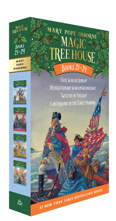 Magic Tree House Books 21-24 Boxed Set by Mary Pope Osborne
