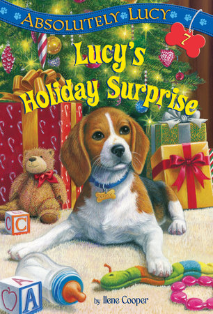 Absolutely Lucy #7: Lucy's Holiday Surprise by Ilene Cooper