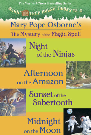 Magic Tree House Books 5-8 Ebook Collection by Mary Pope Osborne