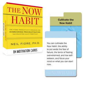 The Now Habit: 64 Motivation Cards