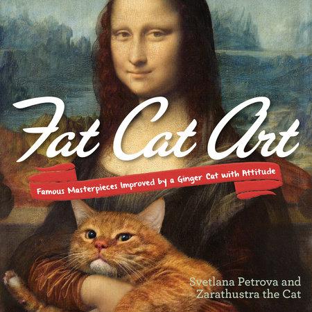 Fat Cat Art by Svetlana Petrova