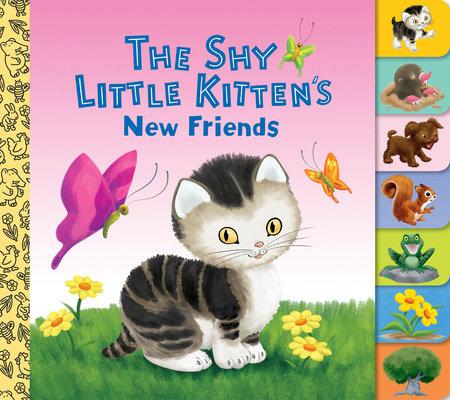 The Shy Little Kitten's New Friends by Golden Books