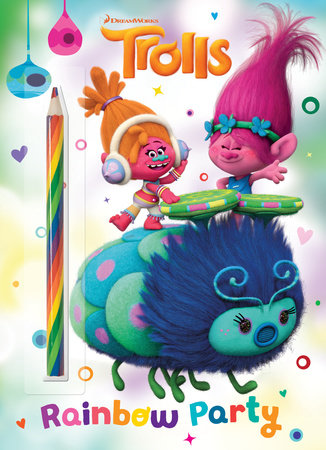 Rainbow Party! (DreamWorks Trolls) by Golden Books