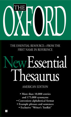 The Oxford New Essential Thesaurus by Oxford University Press