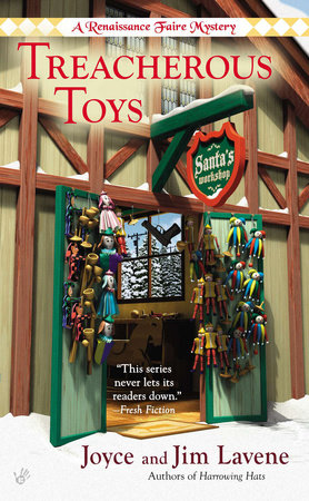 Treacherous Toys by Joyce and Jim Lavene
