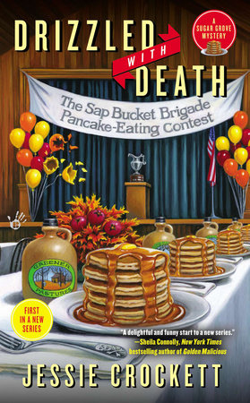Drizzled with Death by Jessie Crockett