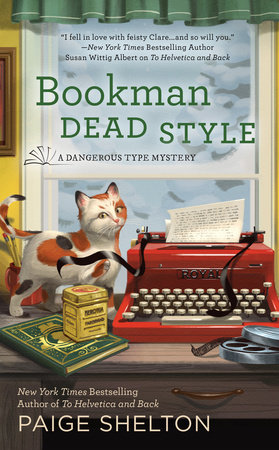 Bookman Dead Style by Paige Shelton