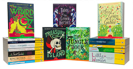 Puffin Classics 16 Book Set by Various