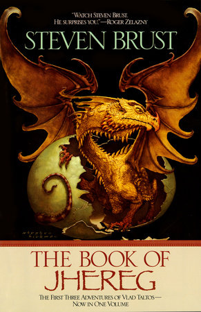 The Book of Jhereg by Steven Brust
