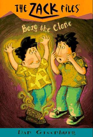Zack Files 10: Bozo the Clone by Dan Greenburg