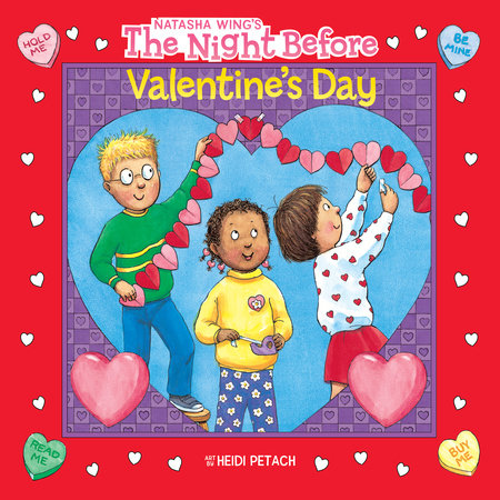 The Night Before Valentine's Day by Natasha Wing